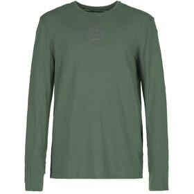 E9 Lino Longsleeve T-Shirt Men, groen